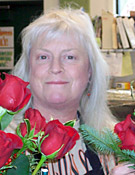 Roxanne Vrtiska is the florist at Shonnard's Nursery, Florist and Landscape in Corvallis, Oregon